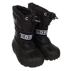 Сапоги зимние детские Sorel Childrens Cub Black