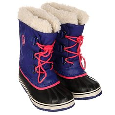 Сапоги зимние детские Sorel Yoot Pac Nylon Grape Juice Afterglow