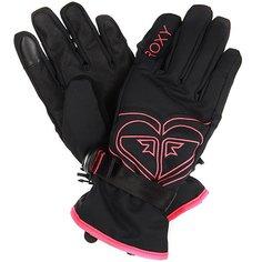 Перчатки сноубордические детские Roxy Popi Gir Glov True Black