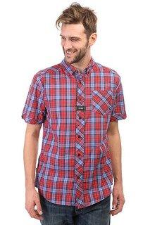 Рубашка в клетку Zoo York Prospect Crimson