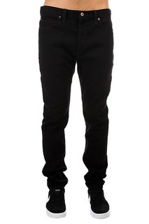 Джинсы прямые Dickies Slim Skinny Jean Rinsed Black