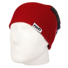 Шапка Neff Snappy Beanie Red/Grey/Navy