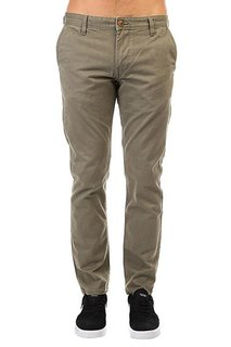 Штаны прямые Quiksilver Everyday Chino Dusty Olive
