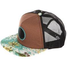 Бейсболка с сеткой Globe Floreana Cap Brow/Hawaiian