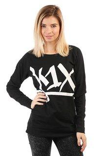 Толстовка классическая женская K1X Tag Longsleeve Black/White