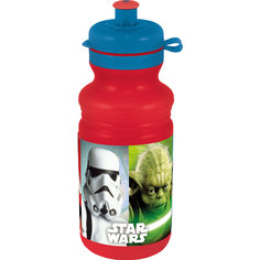 "Бутылка пластиковая ""Звёздные войны"" 500 мл Новый Диск"