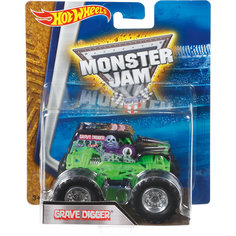 Машинка 1:64,  Monster Jam, Hot Wheels Mattel