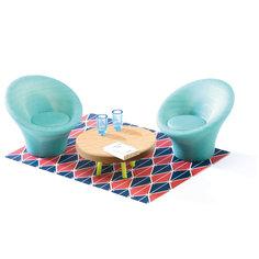 Мебель для кукольного дома, Гостиная, DJECO