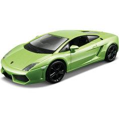 Машина Lamborghini Gallardo, 1:32, зеленая, Bburago