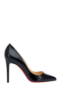 Туфли из лакированной кожи Pigalle 100 Christian Louboutin