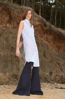 Хлопковое платье Victoria Victoria Beckham