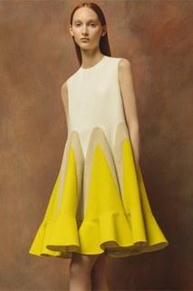 Платье А-силуэта Delpozo