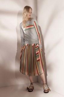 Шелковая юбка No.21
