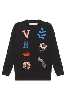 Хлопковый свитшот Victoria Victoria Beckham