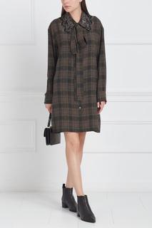 Шелковое платье Marc Jacobs