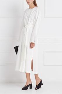 Пальто из шерсти и хлопка Ivo Isabel Marant