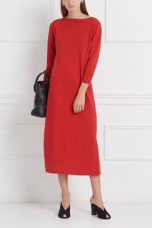Платье из хлопка и шерсти Cara Isabel Marant