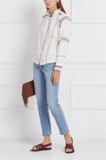 Льняная блузка Delphine Isabel Marant Etoile