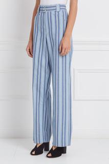Хлопковые брюки Selina Isabel Marant
