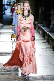 Платье в пол Gucci