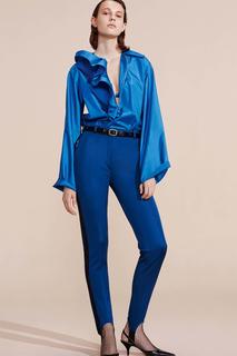 Однотонная блузка Nina Ricci