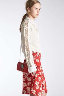 Блузка с кружевом Rochas