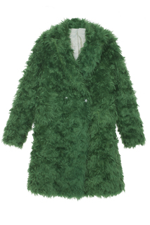 Пальто из мохера Luda Nikishina
