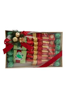 Шоколадный набор «Дед Мороз с подарками» Конфаэль