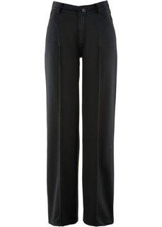 Трикотажные брюки свободного покроя (темно-синий) Bonprix