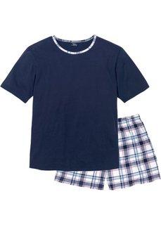 Пижама (бордовый в полоску) Bonprix