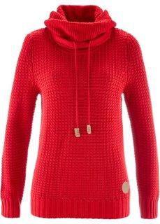 Пуловер (цвет белой шерсти) Bonprix