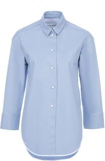 Блуза свободного кроя с контрастной отделкой и укороченным рукавом Walk of Shame