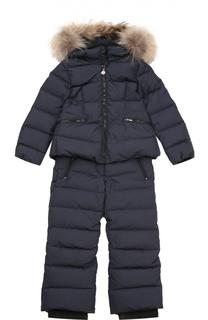 Костюм из куртки и комбинезона Moncler Enfant