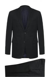 Шерстяной костюм с пиджаком на двух пуговицах Z Zegna