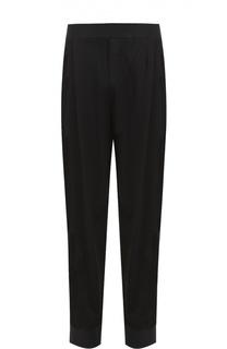 Зауженные брюки из вискозы с заниженной линией шага MCQ