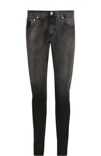 Зауженные джинсы с эффектом деграде Alexander McQueen