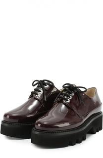 Лаковые ботинки Dingo на шнуровке Walter Steiger