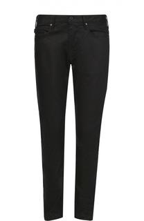 Джинсы прямого кроя из эластичного хлопка Armani Jeans