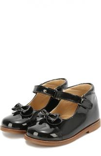 Лаковые туфли с бантом Clarys