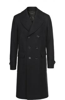 Двубортное пальто из смеси шерсти и кашемира Belstaff
