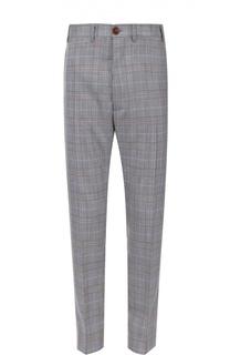 Шерстяные брюки в клетку Vivienne Westwood