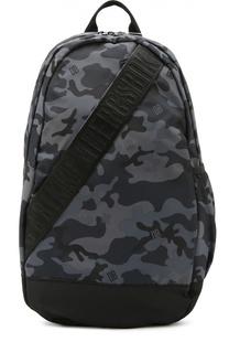 Текстильный рюкзак с камуфляжным принтом Dirk Bikkembergs