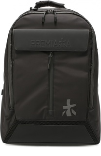 Текстильный рюкзак с отделкой из натуральной кожи Premiata