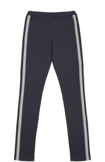 Спортивные брюки из эластичного хлопка Moncler Enfant