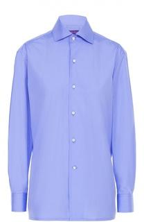 Хлопковая блуза прямого кроя Ralph Lauren