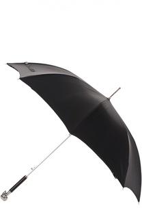Зонт-трость с черепом на ручке Alexander McQueen