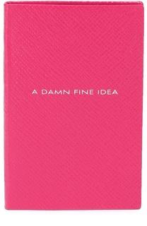 Записная книжка с кожаной обложкой Smythson