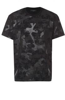 Хлопковая футболка с принтом Camustars Valentino