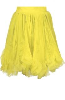 Многослойная плиссированная мини-юбка Dsquared2