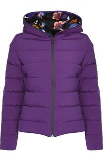 Двусторонняя стеганая куртка с капюшоном Fendi
